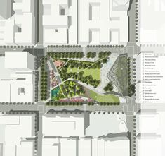 SWA and Morphosis Pershing square renovation proposal architecture news Los Angeles LA USA