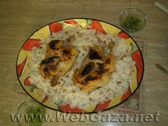 Chicken Fatteh - The word Fatteh generally refers to any meal that contains pieces of fried or roasted bread. Some examples are Hummus Fatteh and chicken Fatteh.