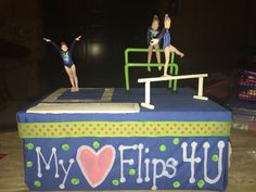 Gymnastics Theme Valentine Box