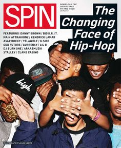This is a great cover.  I like how it leaves you with the mystery of who is on the cover.  Some people would know just because they follow hip hop more than others but i think it would capture most peoples attention.