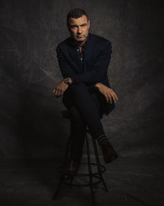 Liev Schreiber photographed by Justin Bishop.