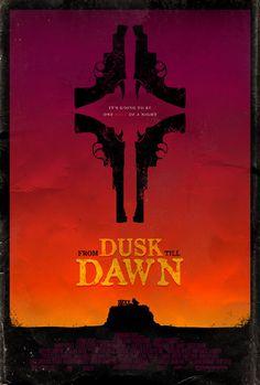 From Dusk Till Dawn - movie poster - Adam Rabalais