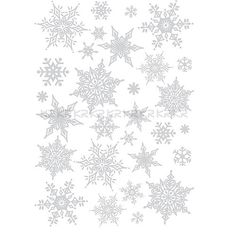 Easy Instant Decoration Wall Sticker Decal - Ornate Glittery Silver Snowflakes Hyundae Sheet,http://www.amazon.com/dp/B002Y333IW/ref=cm_sw_r_pi_dp_ufEKsb1J8X92Y718
