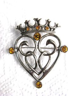 vintage luckenbooth brooch - Google Search