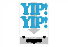Appa Yip Yip Avatar sign  smaller size by Theerin on Etsy, $19.00