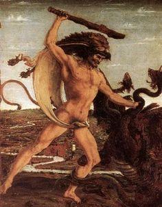 Ο ΗΡΑΚΛΗΣ - Χρονος Παρακειμενος Konstantinos Paliouras class Tarot, Bear Art, Tempera, World Best Photos, Hercules, Mythology, Renaissance, Medieval, Gallery