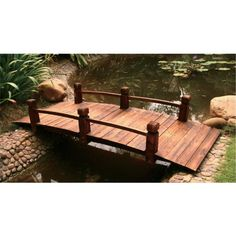 Attrayant Outdoor Wooden Garden Bridge Timber New