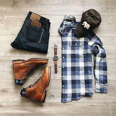 Mens Fashion Rugged
