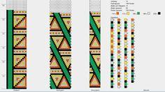 Muster für Häkelkette Umfang 14