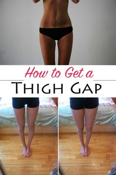 How to Get a Thigh Gap