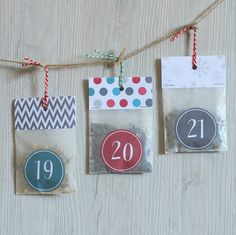 Christmas Countdown Tea Advent CalendarTea by PostTea
