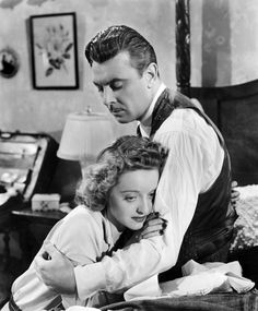 George Brent and Bette Davis in Dark Victory.  They were a great on screen couple.