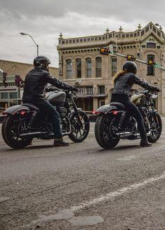 Here's to the minimalists. | Harley-Davidson #DarkCustom #harleydavidsonbobbecaferacers