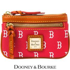 Boston Red Sox MLB Signature Small Coin Case by Dooney & Bourke - MLB.com Shop