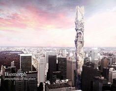 Biomorph Skyscraper: Atmosphere Of The Place- eVolo | Architecture Magazine