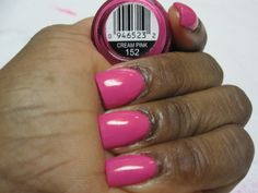 Cream Pink, Sinful Colors