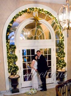 Cathy & Rob heading into their reception in 1741 on the Terrace @ Historic Hotel Bethlehem 010315