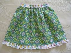 Cup Day Skirt tutorial