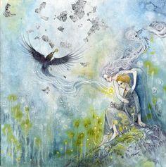 Stephanie Pui-Mun Law - Shadowscapes Magpies
