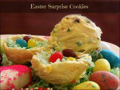 Easter Surprise Cookies! @HERSHEY'S Chocolate #BunnyHop #sponsored