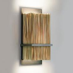 contemporary-bamboo-wall-sconce-ridgely-studio-works-regarding-bamboo-remodel. Bamboo Skewers, Cold Rolled, Shelf Brackets, Incandescent Bulbs, Wall Sconces, Clear Glass, Home Improvement, Wall Lights, Shelves