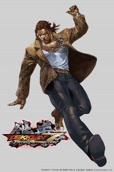 Eddy Gordo Dnd Characters, Video Game Characters, Tekken X Street Fighter, Character Art, Character Design, Tekken 7, Fantasy Love, Beat Em Up, Cyberpunk Character