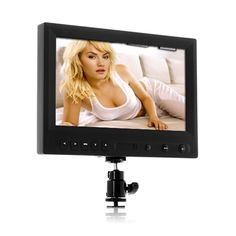 Wholesale 8 Inch On-Camera 1080P HD DSLR Monitor with HDMI & AV - Ultra Long Working Time