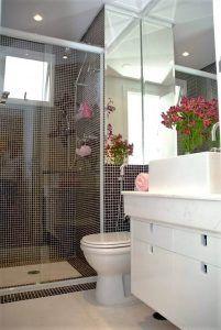 reforma de banheiro com Revestimento box