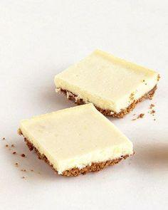 Ginger Cheesecake Bars Recipe