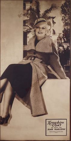 Enthusiast of Classic Movie , Hollywood Star , History , Antique , Art and The Ancient World Hollywood Star, Old Hollywood Glamour, Classic Hollywood, Baby Jeans, Jean Harlow, Classic Actresses, Celebrity Style, Celebrity News, Peplum Dress