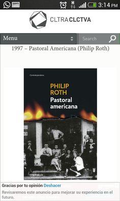 Pastoral Americana-Philip Roth