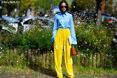 Paris – YoYo Cao. #yoyokulala #Fashion, #FW16, #Moda, #Mode, #Paris, #PFW, #SS17, #Street, #StreetStyle, #Style, #Woman, #Women, #YoYoCao Photo © Wayne Tippetts