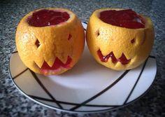 Fourth experiment for #halloween - orange #halloweenpumpkin / Quarta experiência para o #halloween2015 - mini abóboras de Halloween