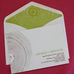 Oregon wedding invitation