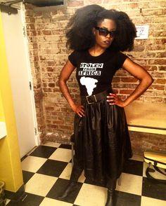 Montreal. #blackgirlmagic #stolenfromafrica. #alldaysfa order SFA merch online! Link in bio