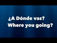 Spanish Interrogatives Rap (Lil Jon, Turn Down for What Parody) - YouTube