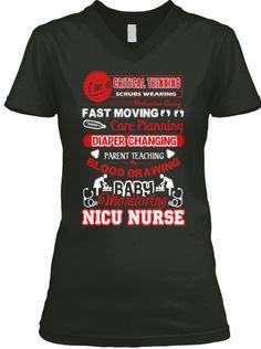Nicu Nurse T Shirt  Check out: https://teespring.com/nicunursetshirt  #nicunurse #nicunurstshirt #nicunurseshirts
