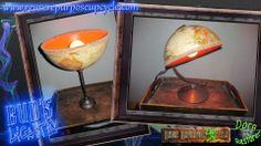 Repurposed Globe Lamps