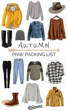 Fall travel outfit, travel outfits, fall packing, packing tips, winter lo. Summer Hiking Outfit, Fall Travel Outfit, Travel Outfits, Travel Clothes Women, Weekend Outfit, Camping Outfits, Pacific Northwest Fashion, Weekend Packing List, Packing Lists