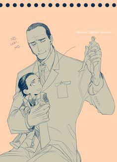 Awww! Coulson babysitting baby Loki!