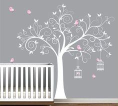 Nursery wall mural by BeBe Diva