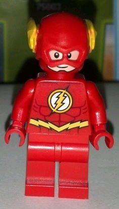 #LEGO #DC Universe Super Heroes Flash Minifigure