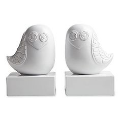 Happy Owl Bookends