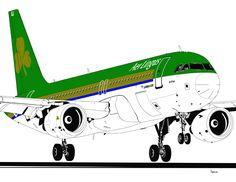 Airbus A320 Aer Lingus