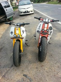 Honda Cub custom scooter(s)