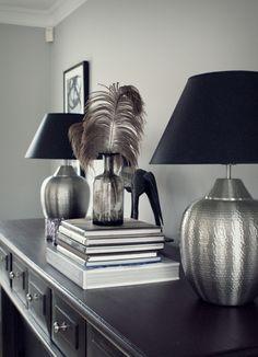 Väggfärg och lampor | Simplicity @ Spotlife