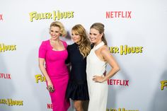 Candace Cameron Bure is under intense scrutiny from the Christian community after appearing on Netflix's new series, Fuller House. Candace Cameron Cure has been facing plenty of backlash from . Candace Cameron Bure, Fuller House, Family Tv, You Look, Sexy Outfits, Actresses, Summer Dresses, Stars, Fill
