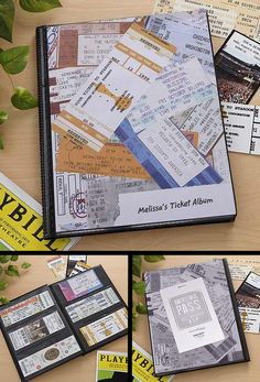Fer Dave: Ticket Album is such a great way to preserve and display concert tix ... use it as a coffee table book so I can share my favorite concert memories!