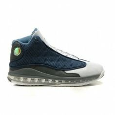 6d34146c72d045 Air Jordan XIII 13 XIII Retro Black white blue mid A13015