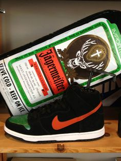 on sale 43af7 2633f 11 Nike SB Sneakers Inspired by Beer  Liquor